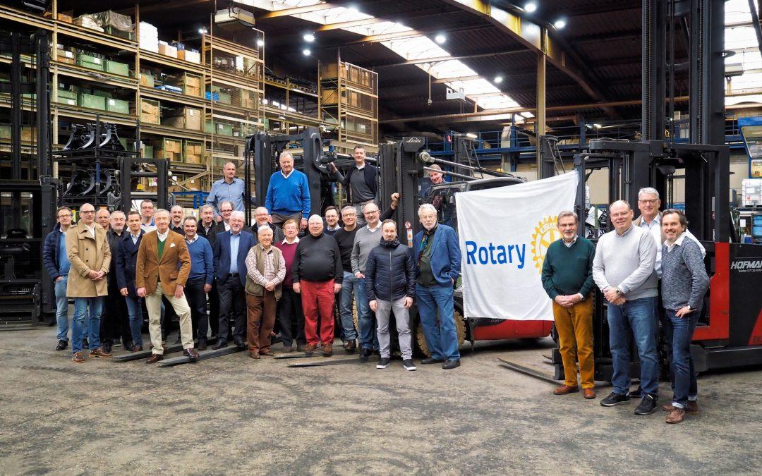 Der Rotary Club Solingen bei der OFTEC